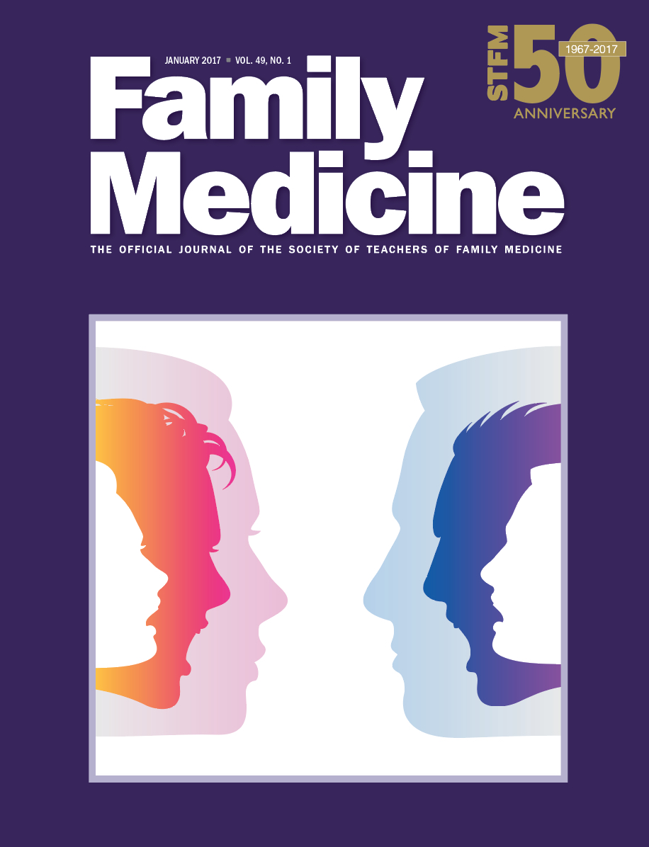 Family Medicine journal cover